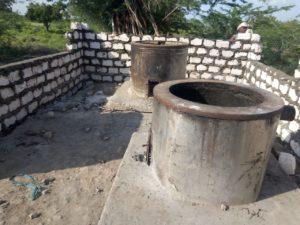 Die neue Schulküche in Maziwa im Rohbau.