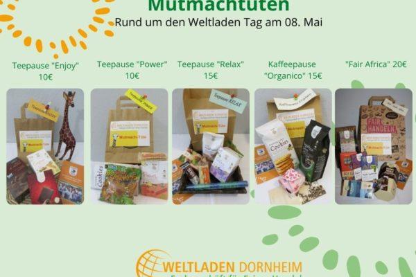 Mutmachtüten Weltladen Dornheim
