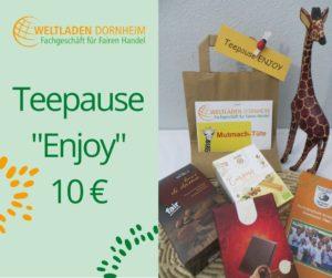 Mutmachtüten Teepause Enjoy Weltladen Dornheim