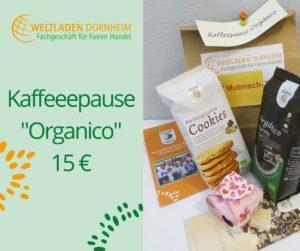 Mutmachtüten Kaffeepause Organico Weltladen Dornheim