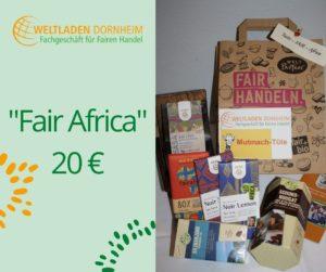 Mutmachtüten Fair Africa Weltladen Dornheim